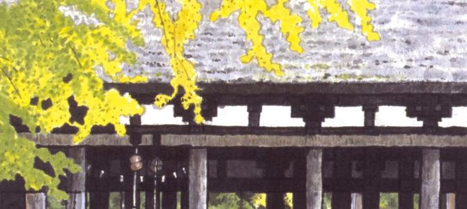 新宮熊野神社の拝殿「長床」